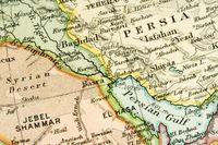 Ancient Persian Gulf Map