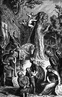 Charlemagne Massacre_of_Verden