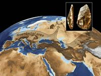 Neanderthal Tools Russia Site