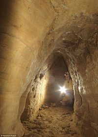 Neolithic tunnels