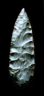 Solutrean spearhead