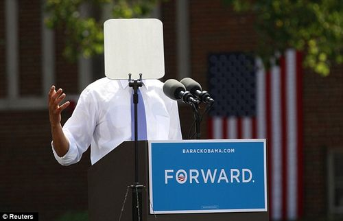 Teleprompter In Chief