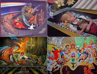 Denver airport murals