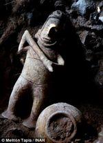 Shaman Statue Mexico