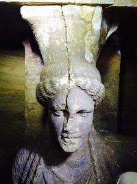 Amphipolis Statue Closeup