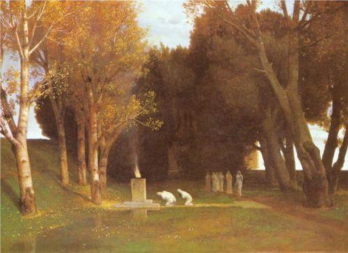 Arnold Bocklin The Sacred Grove