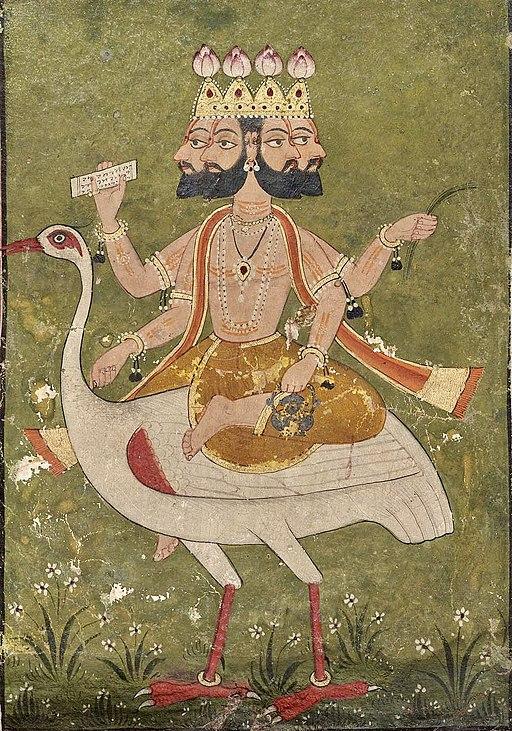 Brahma_on_hamsa